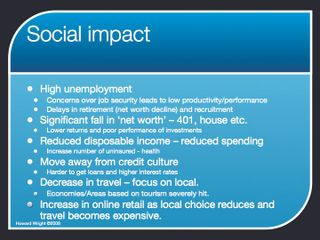Long term impact of financial crisis.006